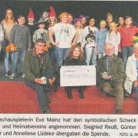 Quelle: Delmenhorster Kreisblatt, 10.11.2018
