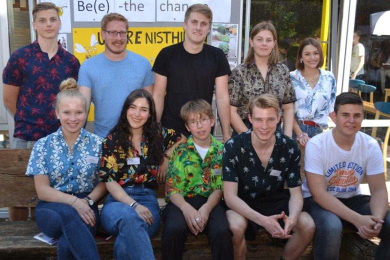 Schülervertretung und Lehrer haben in der Vorbereitung der Projektwoche im Gymnasium Ganderkesee eng zusammengearbeitet. Foto: Dirk Hamm
