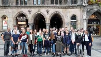 Permalink zu:Grüße von der 10A aus München