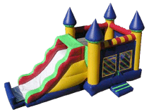 This Bounce House/Slide is INCLUDED in every party!