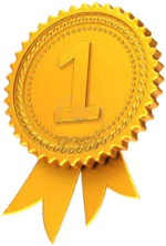 Number 1 ribbon