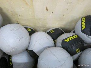 GrandMaster begagnade Wallballs 4-10 kg