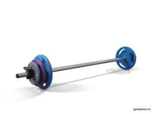 Ziva 1kg-2,5kg-5kg Bodypump-vikter