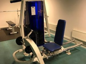 CL Fitness Legpress-Sittande benpress
