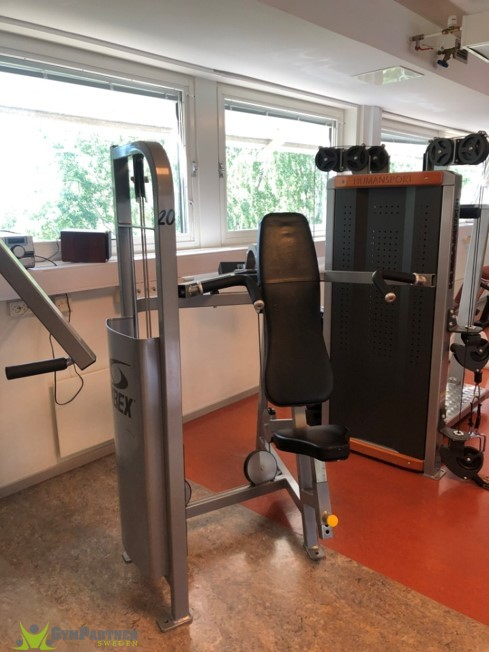 Shoulderpress Cybex