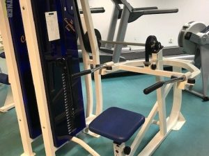 CL Fitness Dipsmaskin