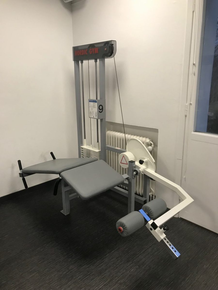 Nordic Gym by GymPartner Liggande lårcurl