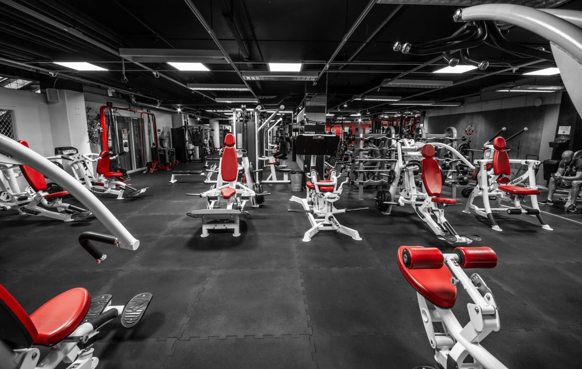 Kompletta Gym-Begagnad Gymutrustning