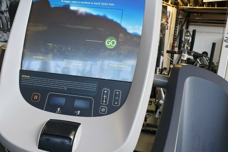 Uppgradering2 av Cardiomaskiner-P80 konsoler