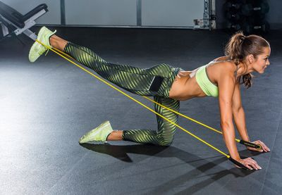 Full body resistance band workout - Women's Health and Fitness magazine