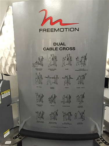 Freemotion Dual Stack Cable Crossover Gymstore Com