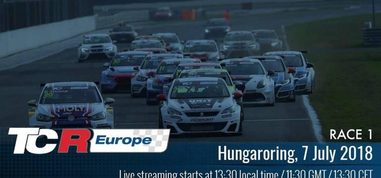 2018 Hungaroring, TCR Europe Round 7 13:30 Élő