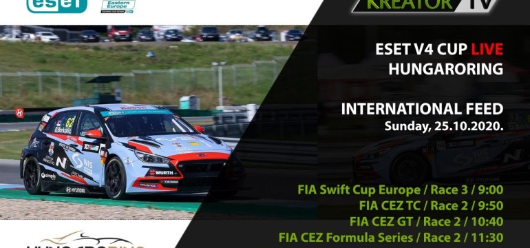 ESET V4 CUP Hungaroring – LIVE // Sunday – International feed