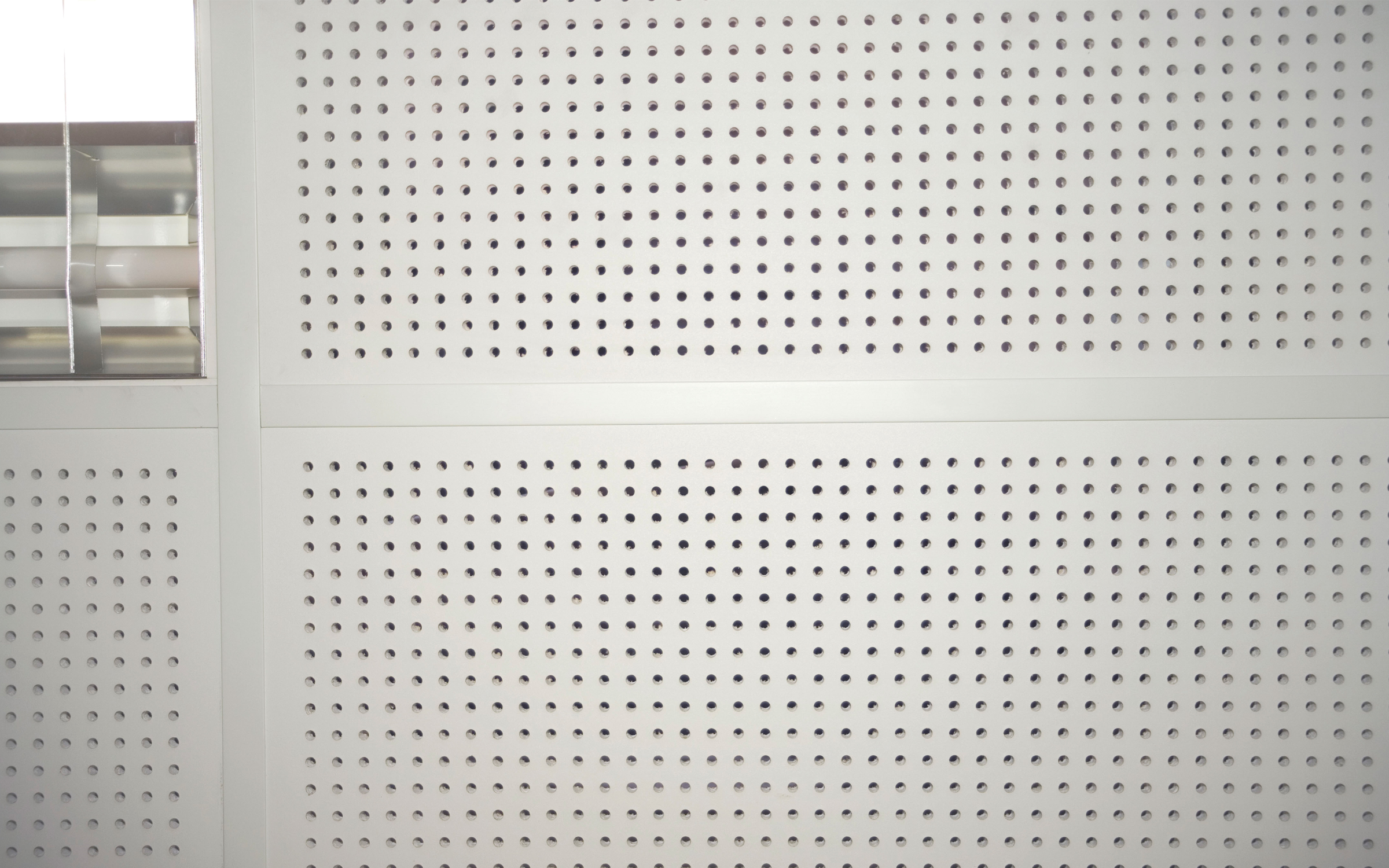 Perforated Ceiling Tiles For Exposed Grid Systems