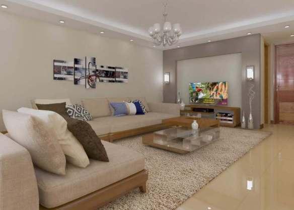 gypsum ceiling sitting room apartment