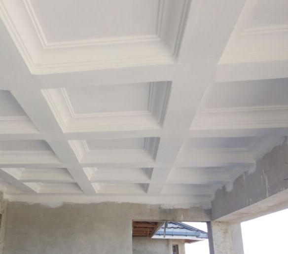 gypsum ceilingcorridor