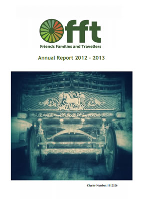 thumbnail of cover for 'Annual Report 2012-2013' FFT