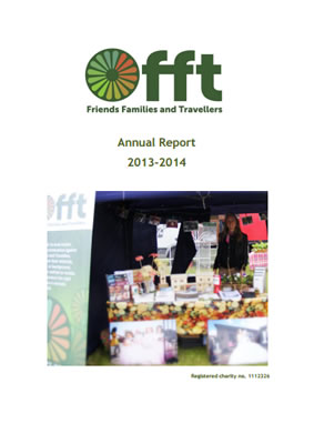 thumbnail of cover for 'Annual Report 2013-2014' FFT