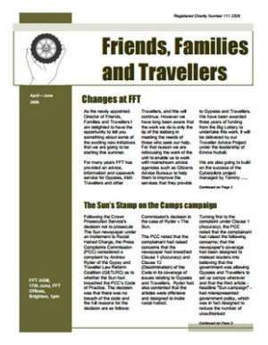 thumbnail of cover for 'Newsletter April-June 2006' FFT