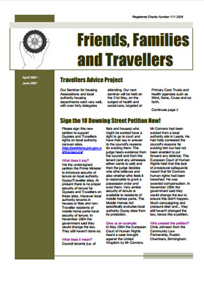 thumbnail of cover for 'Newsletter June 2007' FFT