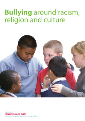 thumbnail of report cover for 'Bully around racism, religion and culture'