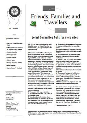 thumbnail of cover for 'Newsletter December 2004' FFT
