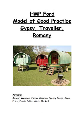 thumbnail of report cover for 'HMP Ford Model of Good Practice Gypsy, Traveller, Romany'