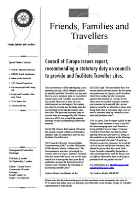 thumbnail of cover for 'Newsletter August 2005' FFT