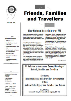 thumbnail of cover for 'Newsletter June 2004' FFT