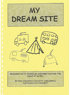 Picture of booklet titled 'my dream site'