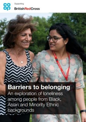 Thumbnail of report for 'Barriers to belonging: An exploration of loneliness among people from BAME backgrounds'