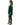YKB00599 Poncho Top Cold Shoulder Hunter Green Side