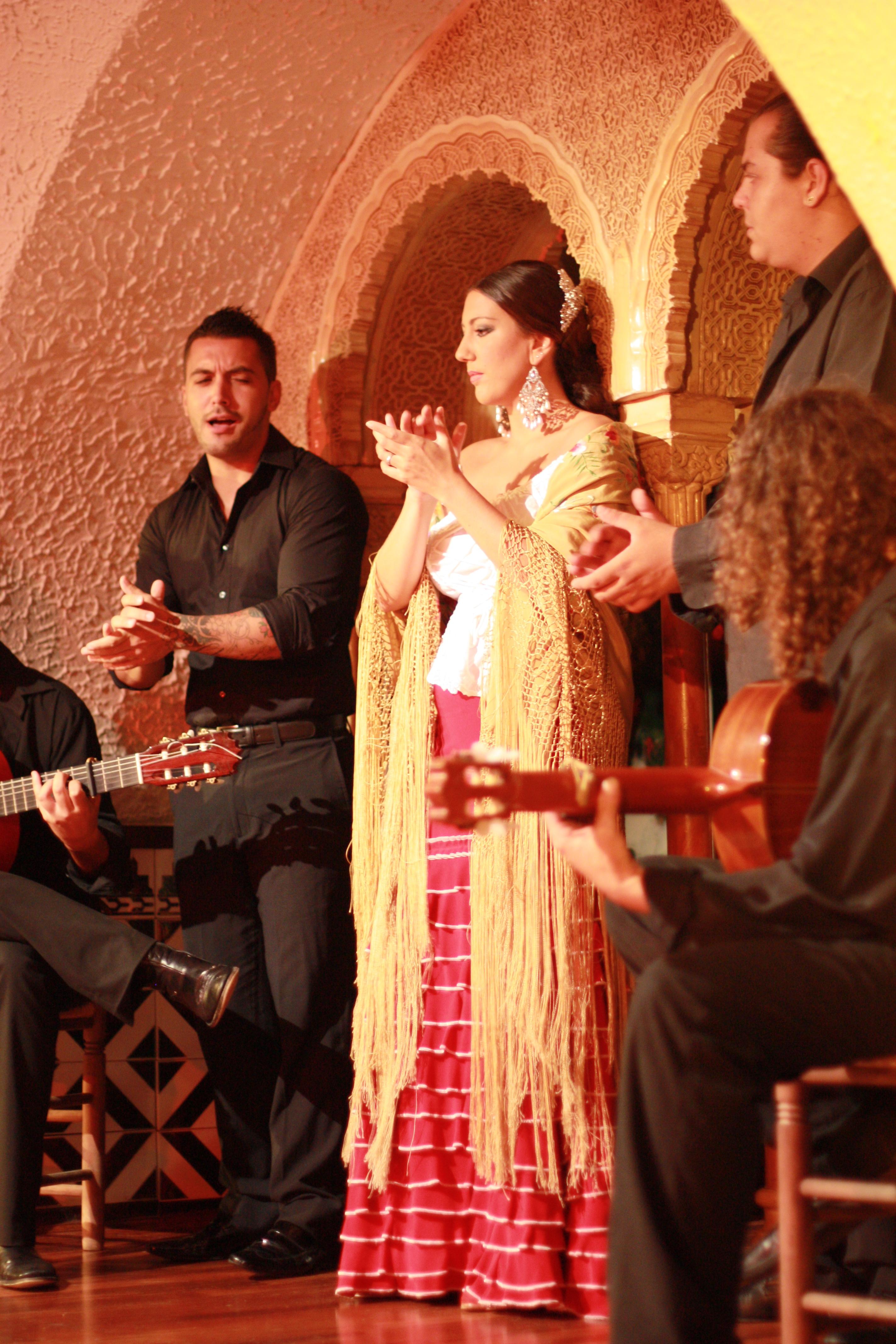 spain u2013 flamenco dancing gypsy family travel