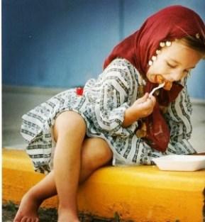 childhood photo of my niece