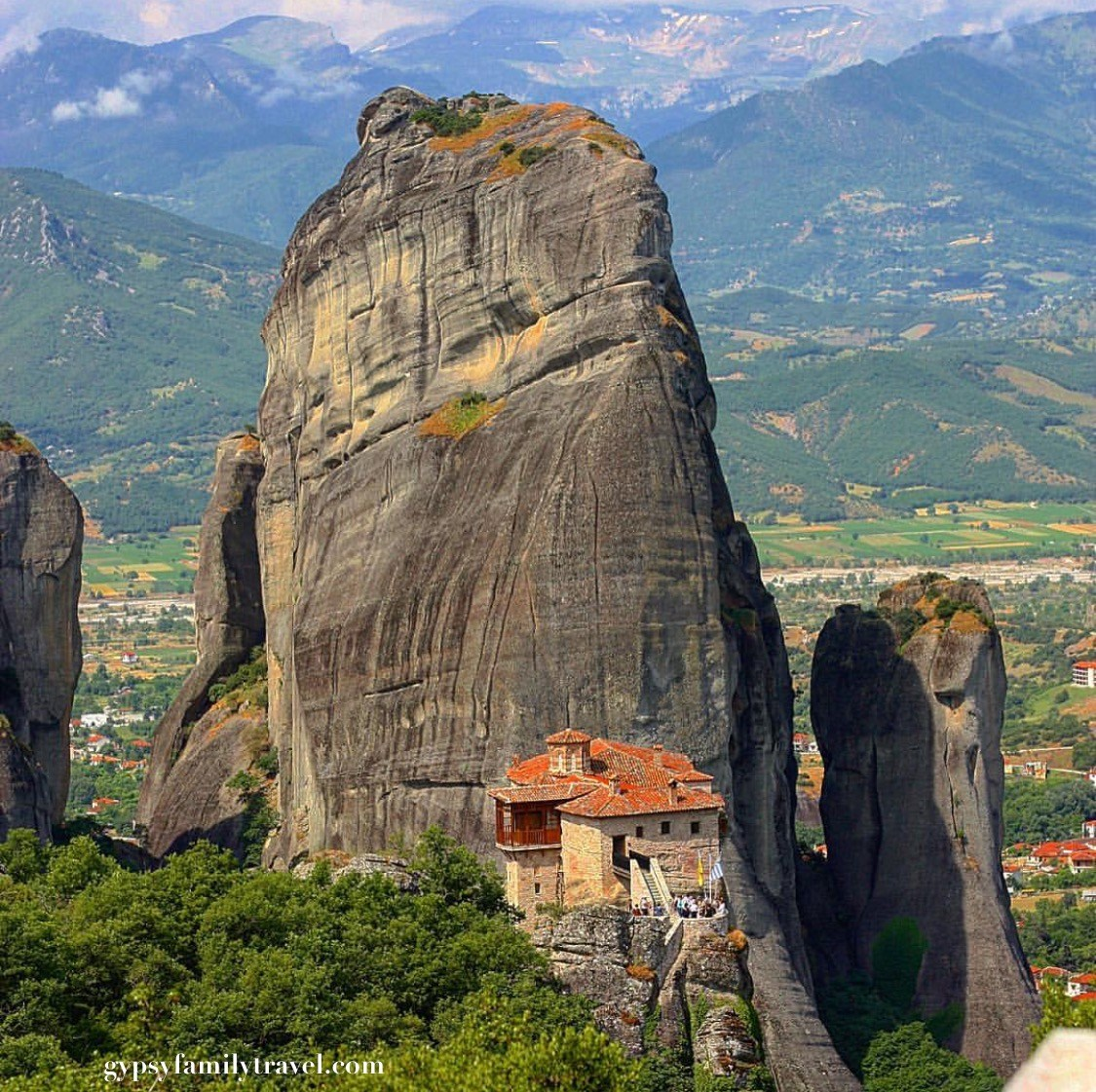Mountain Towns In Greece