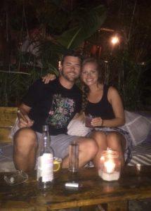 Grant and Rachel at Gitano
