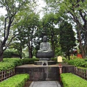 Buddha Statue at Grant at Sensō-ji Temple