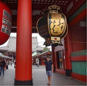 Grant at Sensō-ji Temple