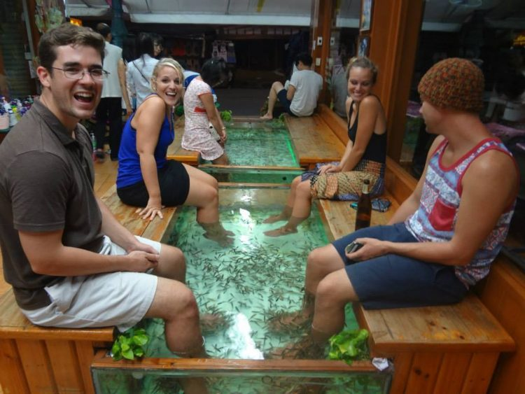 fish pedicure in Bangkok