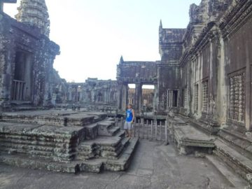 Grant at Angkor Wat