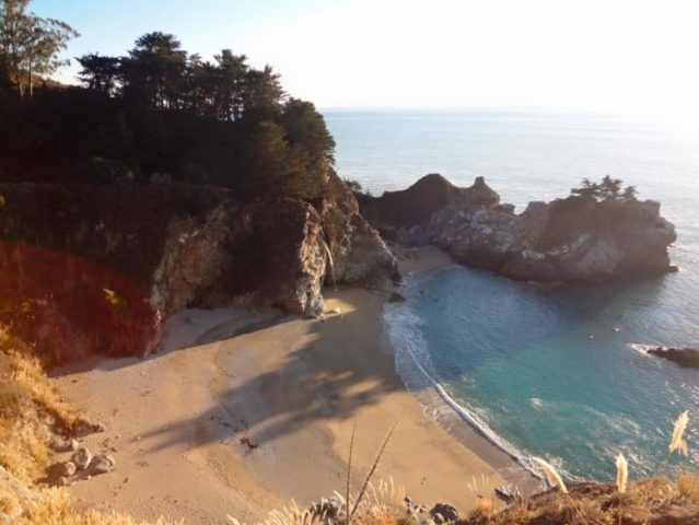 Julia Pfeiffer Burns State Park in Big Sur California