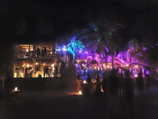 Papaya Playa Project Full moon pary