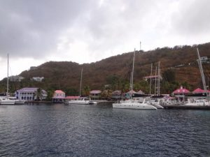 Anchorage in the Caribbean
