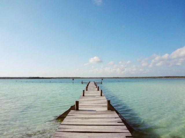 Kanlum Lagoon boat dock- tulum day trips