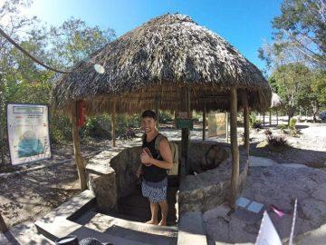 Grant at Cenote Multun-Ha
