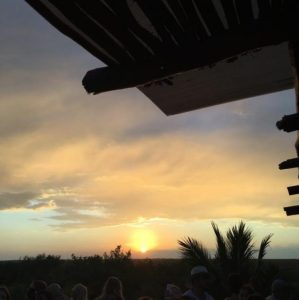 Sunset form Mateos in Tulum