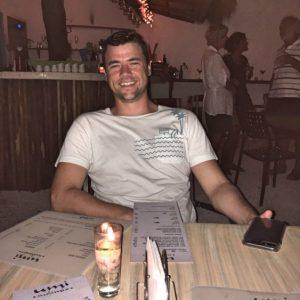Grant at Umi Sushi