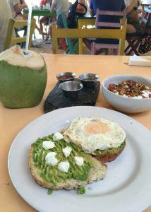 Zamas Tulum avocado toast