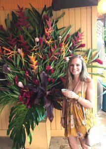 Rachel at Smith's Family Garden Luau on Kauai