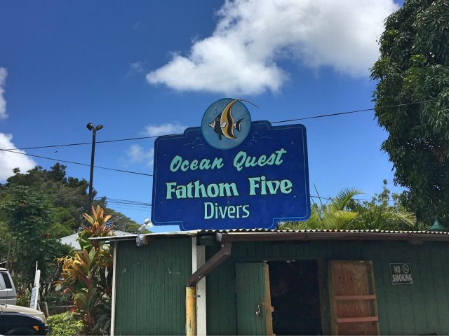 Fathom Five Divers on Kauai